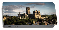 Portable Battery Charger featuring the photograph Durham Cathedral by Matt Malloy