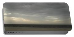 Dusk Beach Walk  Portable Battery Charger by Joseph Baril
