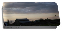 Portable Battery Charger featuring the photograph Dusk Til Dawn by Bobbee Rickard