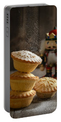 Dusting Mince Pies Portable Battery Charger