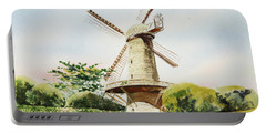 Dutch Windmill In San Francisco  Portable Battery Charger