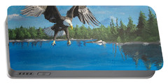 Eagle Attack Portable Battery Charger by Norm Starks