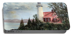 Eagle Harbor Light Portable Battery Charger