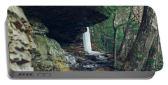 Eaglefalls Trail In Winter Portable Battery Charger