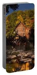 Early Autumn At Glade Creek Grist Mill Portable Battery Charger
