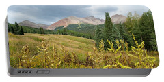 Portable Battery Charger featuring the photograph Early Autumn In The San Juans -  Mount Wilson And Wilson Peak by Cascade Colors