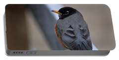 Portable Battery Charger featuring the photograph Early Bird by Sharon Elliott