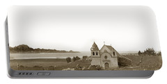 Early Carmel Mission And Point Lobos California Circa 1884 Portable Battery Charger