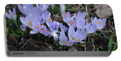 Early Crocuses Portable Battery Charger