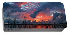 Early Dawns Light Portable Battery Charger by Roger Becker