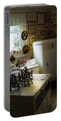 Early Fifty's Kitchen Portable Battery Charger by Randall Branham