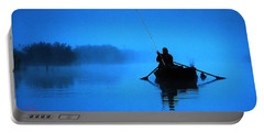 Early Morning Fishing  Portable Battery Charger