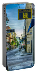 Early Morning In French Quarter Nola Portable Battery Charger