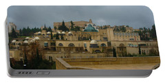 Portable Battery Charger featuring the photograph Early Morning In Jerusalem by Doc Braham