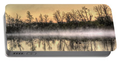 Early Morning Mist Portable Battery Charger