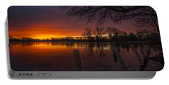 Portable Battery Charger featuring the photograph Early Morning Sunrise by Nicholas  Grunas