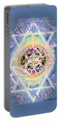 Earth Water Spirit Madonna Peace Matrix Portable Battery Charger