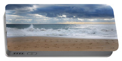 Earth's Layers - Jersey Shore Portable Battery Charger