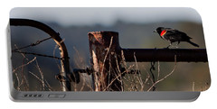 Eary Morning Blackbird Portable Battery Charger