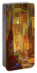 East 45th Street - New York City Portable Battery Charger
