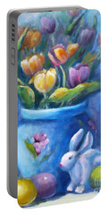 Easter Still Life Portable Battery Charger