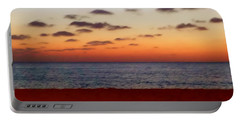 Portable Battery Charger featuring the photograph Easter Sunset by Amar Sheow