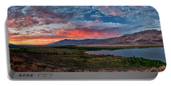 Eastern Sierra Sunset Portable Battery Charger