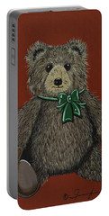 Easton's Teddy Portable Battery Charger by Jennifer Lake