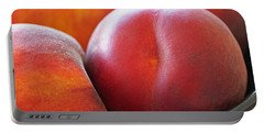 Portable Battery Charger featuring the photograph Eat A Peach by Rona Black