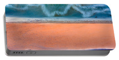 Ebb And Flow Portable Battery Charger by Edgar Laureano