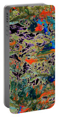 Ebb And Flow Portable Battery Charger by Jacqueline McReynolds