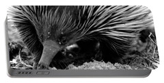 Portable Battery Charger featuring the photograph Echidna by Miroslava Jurcik