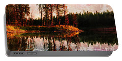 Echo Lake In Montana Portable Battery Charger