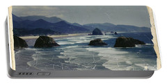 Ecola Sea Stacks Portable Battery Charger by Chalet Roome-Rigdon