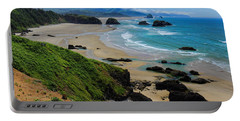 Ecola State Park Beach Portable Battery Charger