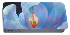 Portable Battery Charger featuring the painting Ecstasy by Sandi Whetzel