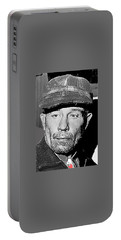 Ed Gein The Ghoul Who Inspired Psycho Plainfield Wisconsin C.1957-2013 Portable Battery Charger