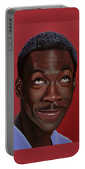 Eddie Murphy Painting Portable Battery Charger