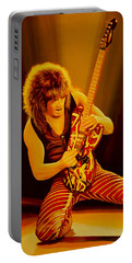 Eddie Van Halen Painting Portable Battery Charger