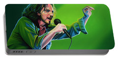 Eddie Vedder Of Pearl Jam Portable Battery Charger