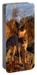 Portable Battery Charger featuring the photograph Edge Of Glory by James Peterson