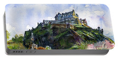 Edinburgh Castle Scotland Portable Battery Charger