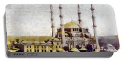 Edirne Turkey Old Town Portable Battery Charger by Georgi Dimitrov