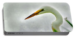 Egret Close-up Portable Battery Charger