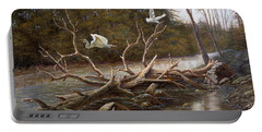 Egret's Paradise Portable Battery Charger