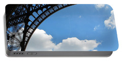 Eiffel Clouds Portable Battery Charger