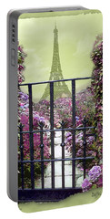 Eiffel Garden Portable Battery Charger