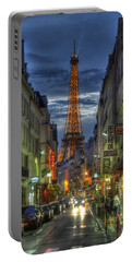 Eiffel Over Paris Portable Battery Charger