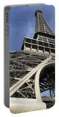 Eiffel Tower Portable Battery Charger by Belinda Greb