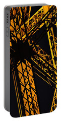 Eiffel Tower Detail Portable Battery Charger